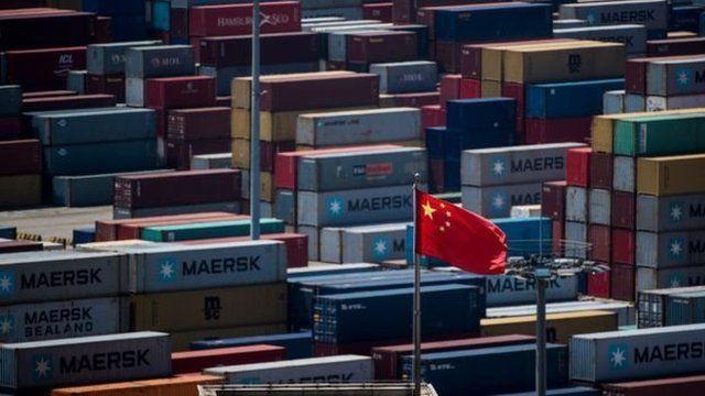 中国的出口在过去20年突飞猛进。