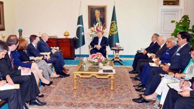 امریکی اور پاکستانی حکام کی ملاقات