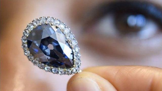 Өтө сейрек көк бриллиант