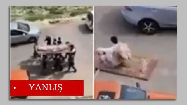 'Sahte cenaze' görüntüleri Ürdün'de çekilmiş.