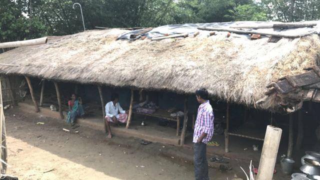 गंगू पहाड़िया का घर