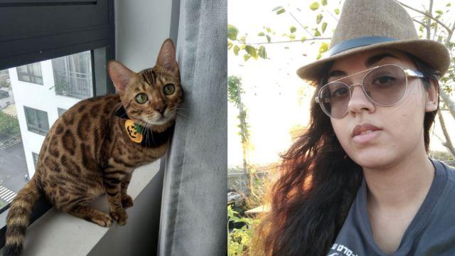 Anthea và mèo