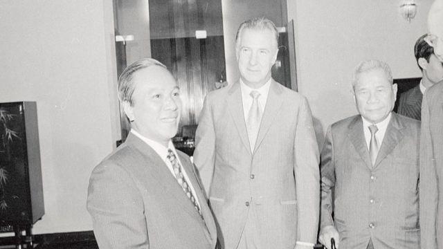 Tổng thống Nguyễn Văn Thiệu năm 1972