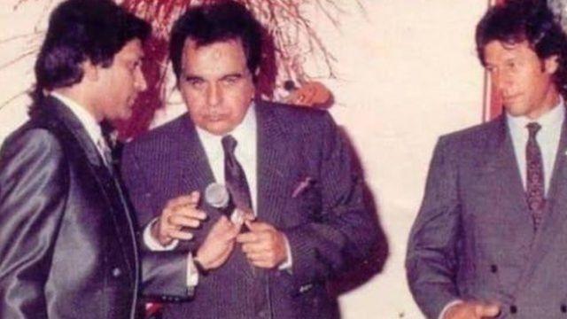 عمران خان، دلیپ کمار اور معین اختر