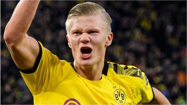 Mshambuliaji wa Borussia Dortmund Erling Braut Haaland ni kipaumbele cha Manchester City