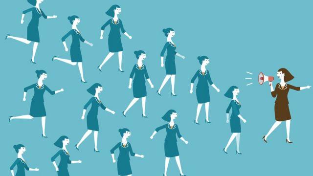 ilustração mulheres