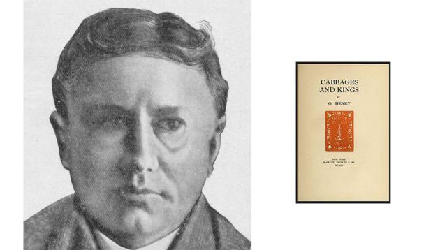 """O. Henry y la portada de la edición original """"Repollos y reyes"""""""