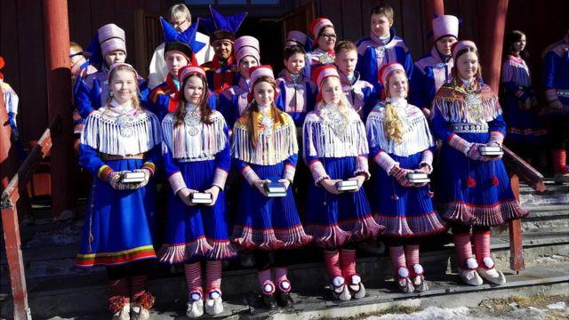 Саамская молодежь в Норвегии
