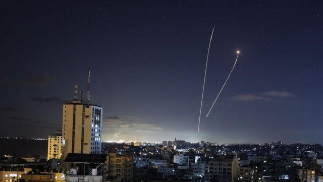 صاروج أُطلق من غزة على تل أبيب