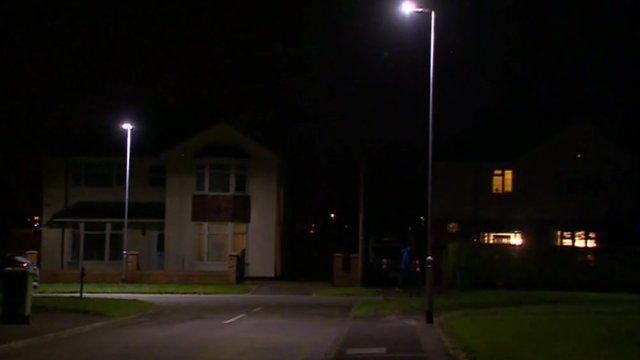 New street lights in Stockton