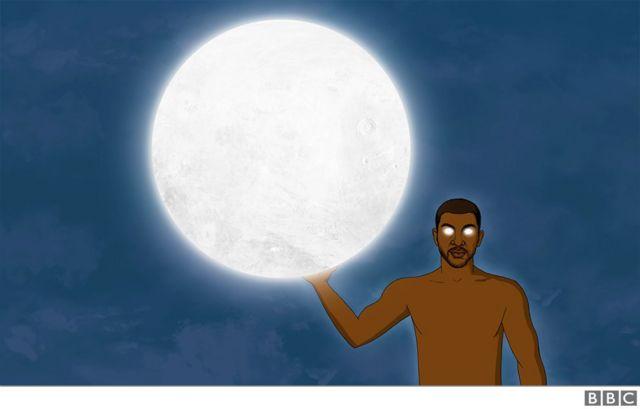 Ọnwa; di moon god