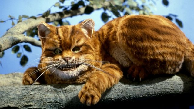 Улыбающийся Чеширский кот