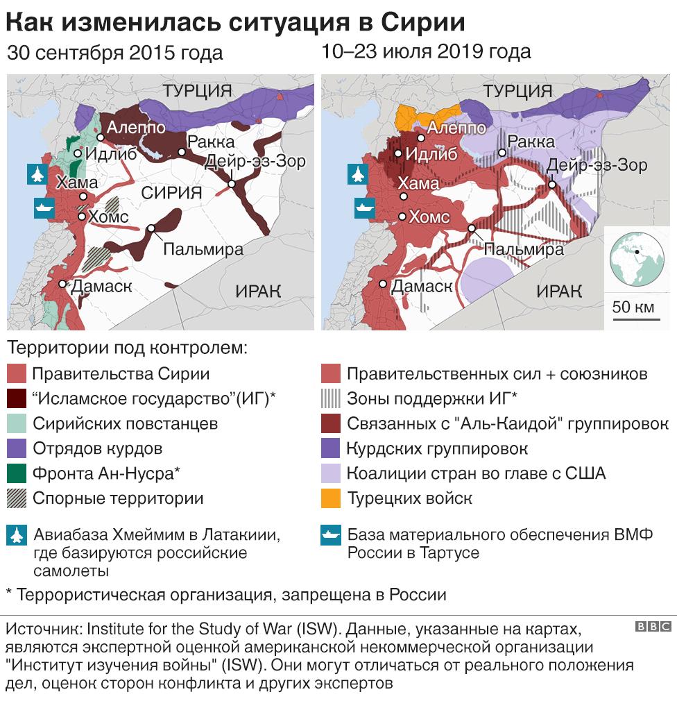 как изменилась ситуация в сирии