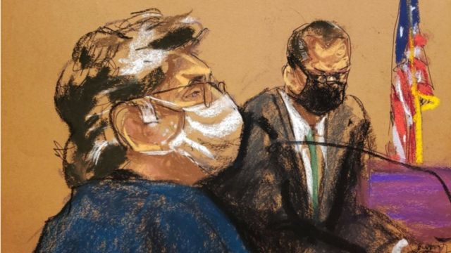 Keith Raniere fue sentenciado en una corte en Nueva York este martes.