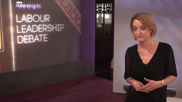 Laura Kuenssberg at Labour Leadership Debate in Nuneaton