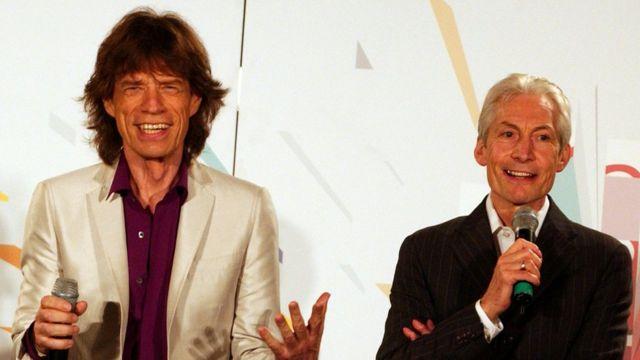 Jagger y Watts