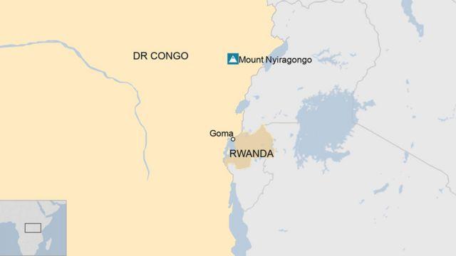 Ikarita ya Goma n'u Rwanda