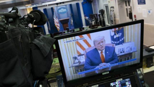 Трамп осудил насилие - но пока так и не признал свое поражение на выборах