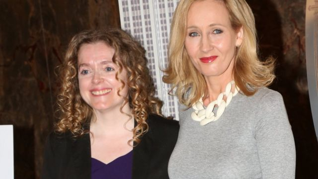 JK Rowling charity boss leaves post amid 'culture challenges'