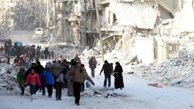 Activists said many of those killed in Jubb al-Qubbeh were displaced civilians