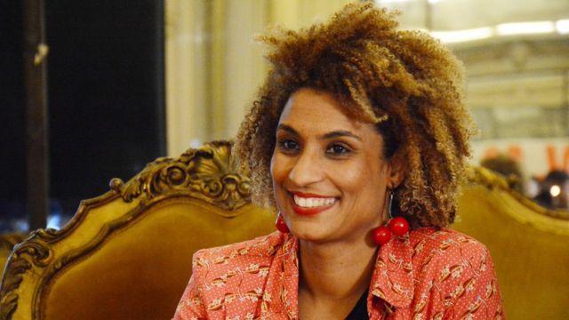 Marielle Franco na Câmara do Rio