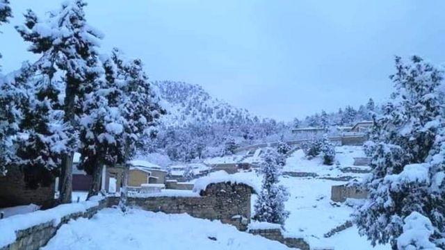زیارت، برفباری