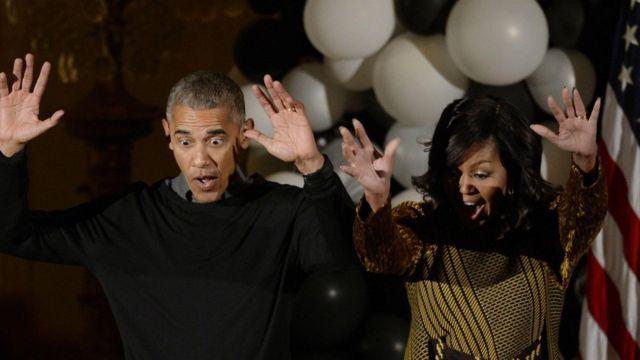 奥巴马夫妇