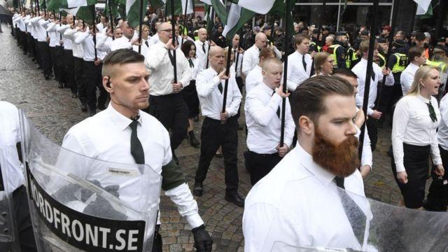 """В Швеции есть более радикальный, чем """"Шведские демократы"""", партии, например неонацистское """"Северное движение сопротивления"""""""