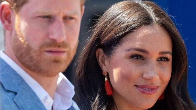 Prens Harry ve Sussex Düşesi Meghan Markle