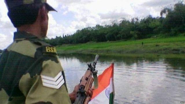 बांग्लादेश, भारत, बीएसएफ