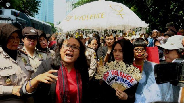 Unjuk rasa anti Raja Salman
