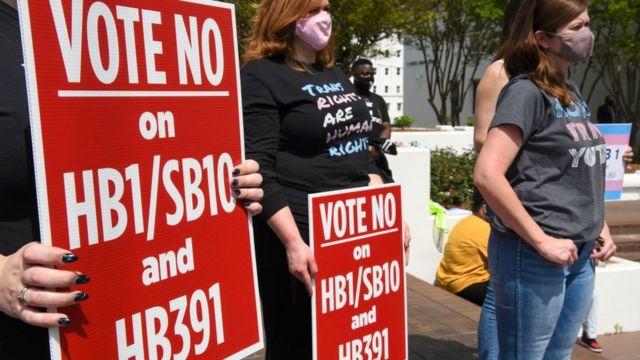 Митинг в Алабаме
