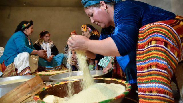 الاحتفال برأس السنة الأمازيغية في الجزائر