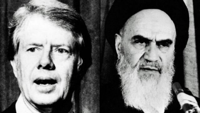 هواداران آیت الله خمینی ۶۶ آمریکایی را به گروگان گرفتند و کارتر در ازای هر گروگان ۱۸۰ میلیون دلار ایران را به گرو گرفت