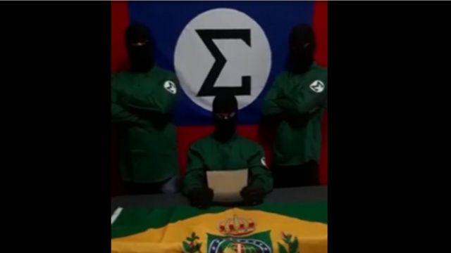 video do grupo que reivindicou atque