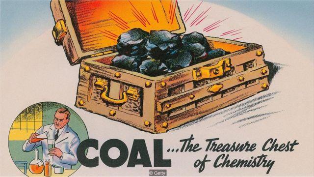 Químicos produzidos em processos como carvão