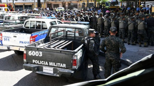 Honduran security forces