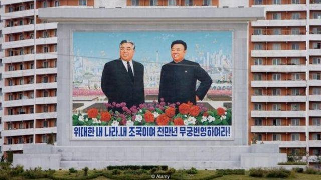 किम इल सुंग और किम जॉन्ग इल