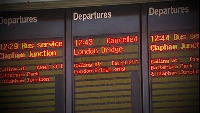 Departure boards