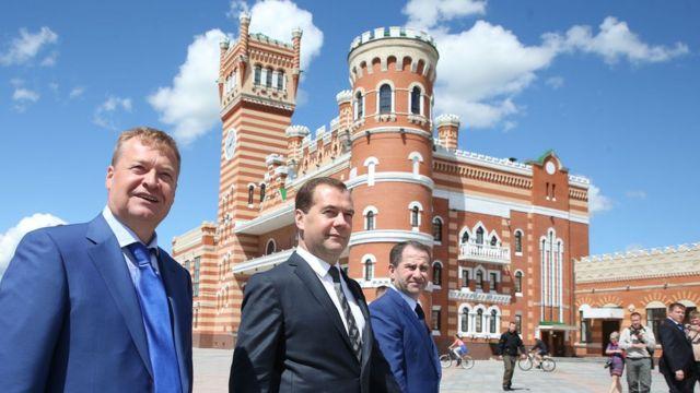 Маркелов и Медведев