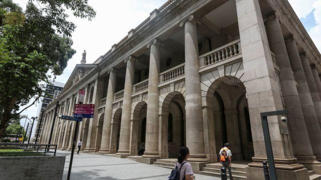 香港终审法院大楼(资料图片)