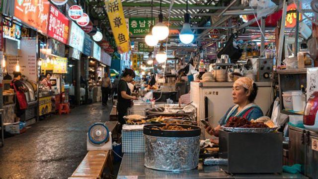 韩国人的饮食