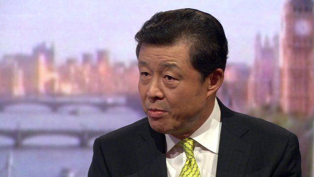 China's ambassador Liu Xiao Ming