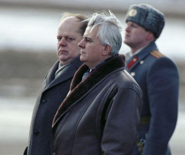 شوشکیویچ و کراوچوک، بعدتر در دسامبر ۱۹۹۱