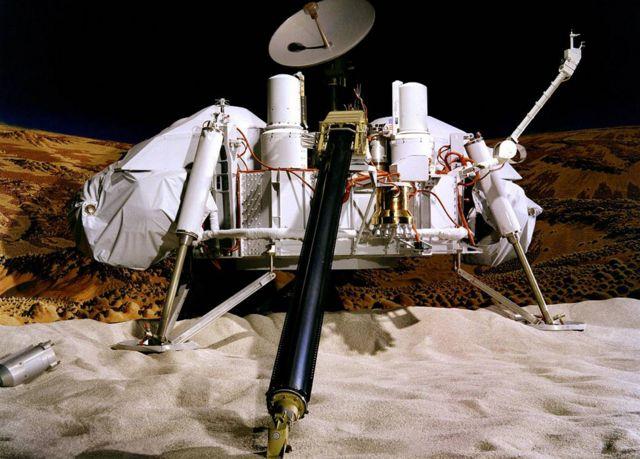 Modelo de una sonda Viking
