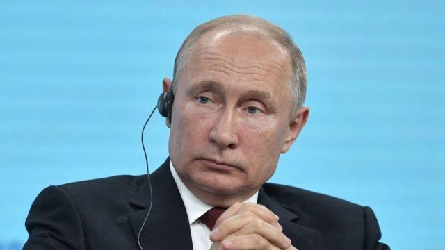 Vladimir Putin en el Foro, 7 de junio 2019
