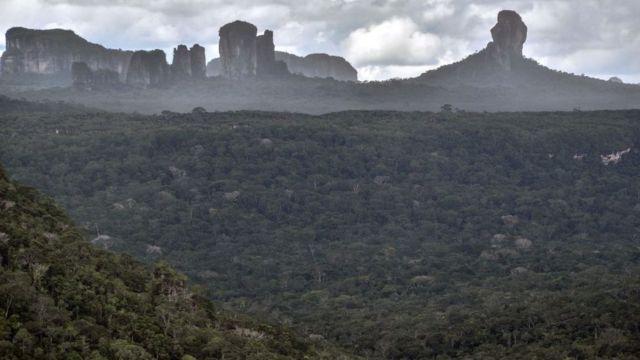 Serranía de Chibiriquete.