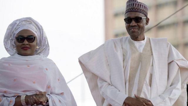 Aisha da Muhammadu Buhari