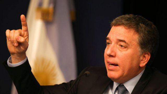 Ministro de Hacienda de Argentina, Nicolás Dujovne.