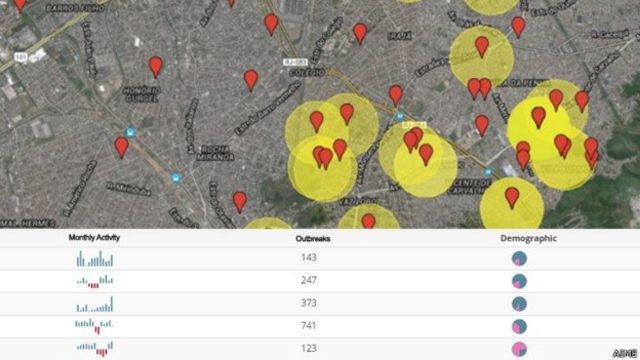 Mapa epidemico